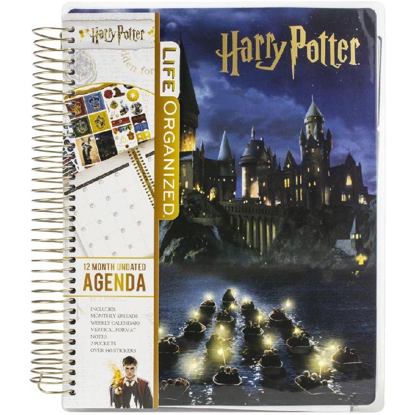 Planner Harry Potter HOGWARTS AT NIGHT par Paper House. Scrapbooking et loisirs créatifs. Livraison rapide et cadeau dans cha...