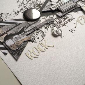 Badges ROCK FAMILY par Lorelai Design. Scrapbooking et loisirs créatifs. Livraison rapide et cadeau dans chaque commande.