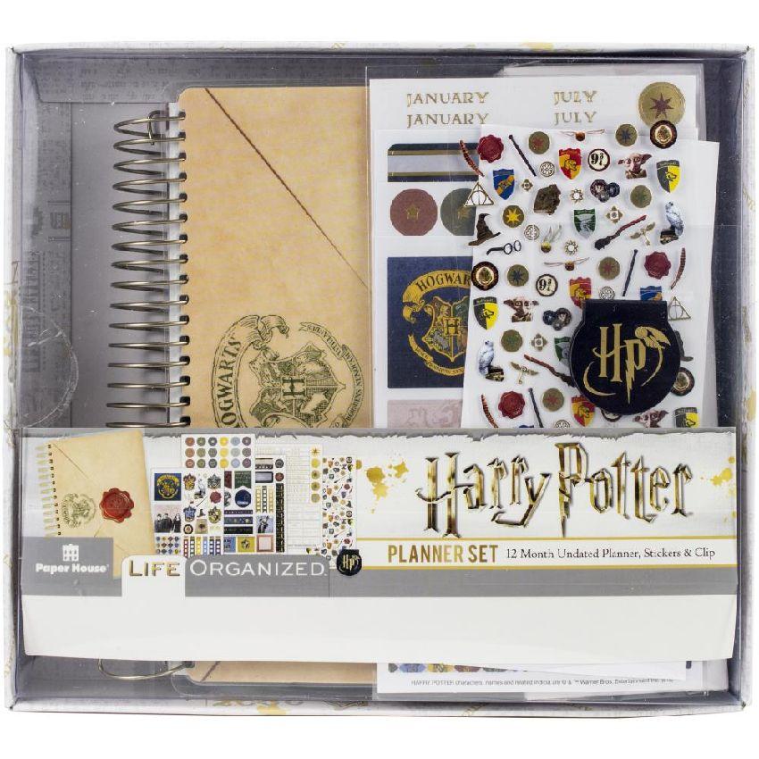 Kit Mini Planner HARRY POTTER par Paper House. Scrapbooking et loisirs créatifs. Livraison rapide et cadeau dans chaque comma...