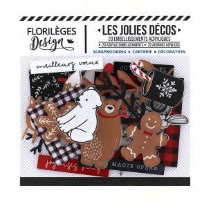 Parfait pour créer : Décos CHRISTMAS COCOONING par Florilèges Design. Livraison rapide et cadeau dans chaque commande.