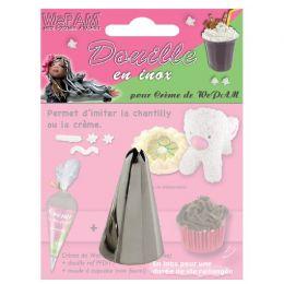 Douille En Inox Pour Creme De WePam N°17 par WePAM. Scrapbooking et loisirs créatifs. Livraison rapide et cadeau dans chaque ...