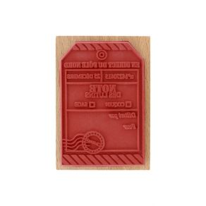 Tampon bois TAG PÔLE NORD par Florilèges Design. Scrapbooking et loisirs créatifs. Livraison rapide et cadeau dans chaque com...