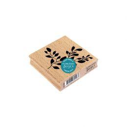 Tampon bois FEUILLAGE PARFAIT par Florilèges Design. Scrapbooking et loisirs créatifs. Livraison rapide et cadeau dans chaque...