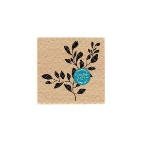 Parfait pour créer : Tampon bois FEUILLAGE PARFAIT par Florilèges Design. Livraison rapide et cadeau dans chaque commande.