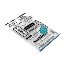Tampons clear L'INSTANT COULEURS par Florilèges Design. Scrapbooking et loisirs créatifs. Livraison rapide et cadeau dans cha...