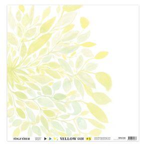 Kit calques YELLOW par Florilèges Design. Scrapbooking et loisirs créatifs. Livraison rapide et cadeau dans chaque commande.