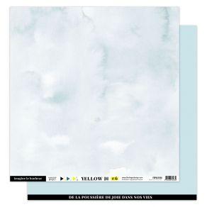 Parfait pour créer : Papier Uni BLEU CIEL par Florilèges Design. Livraison rapide et cadeau dans chaque commande.