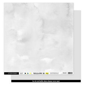 Papier uni 30,5 x 30,5 cm N°4 GRIS DOUX par Florilèges Design. Scrapbooking et loisirs créatifs. Livraison rapide et cadeau d...