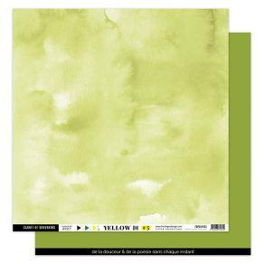 Papier Uni VERT FEUILLAGE par Florilèges Design. Scrapbooking et loisirs créatifs. Livraison rapide et cadeau dans chaque com...