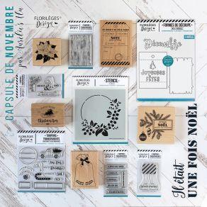 Pack Complet Capsule De Novembre 2019 par Florilèges Design. Scrapbooking et loisirs créatifs. Livraison rapide et cadeau dan...