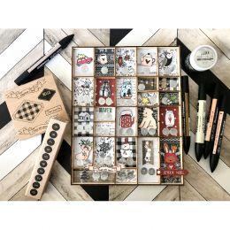 Tampons clear WONDERFUL TIME par Florilèges Design. Scrapbooking et loisirs créatifs. Livraison rapide et cadeau dans chaque ...
