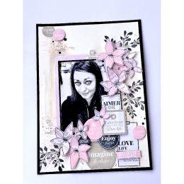 Tampon bois GRAND FEUILLAGE PARFAIT par Florilèges Design. Scrapbooking et loisirs créatifs. Livraison rapide et cadeau dans ...