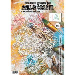 Pochoir 85 ABUNDANCE par AALL & Create. Scrapbooking et loisirs créatifs. Livraison rapide et cadeau dans chaque commande.