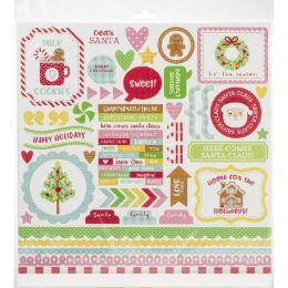 Kit Collection 30,5 x 30,5 CHRISTMAS MAGIC par Doodlebug design. Scrapbooking et loisirs créatifs. Livraison rapide et cadeau...