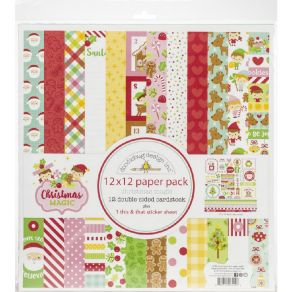 PROMO de -99.99% sur Kit Collection 30,5 x 30,5 CHRISTMAS MAGIC Doodlebug design