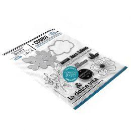 Combo Clear Die YELLOW par Florilèges Design. Scrapbooking et loisirs créatifs. Livraison rapide et cadeau dans chaque commande.