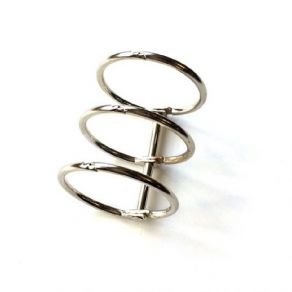 Parfait pour créer : Reliure 3 anneaux Diamètre 3 cm ARGENT par Ephéméria. Livraison rapide et cadeau dans chaque commande.
