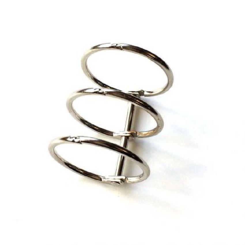 Reliure 3 anneaux Diamètre 3 cm ARGENT par Ephéméria. Scrapbooking et loisirs créatifs. Livraison rapide et cadeau dans chaqu...