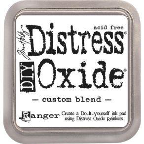 Boitier sans encre à personnaliser Distress Oxide CUSTOM BLEND par Ranger. Scrapbooking et loisirs créatifs. Livraison rapide...