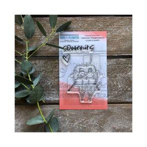Tampons clear Souffle d'hiver TELESIEGE par Chou and Flowers. Scrapbooking et loisirs créatifs. Livraison rapide et cadeau da...