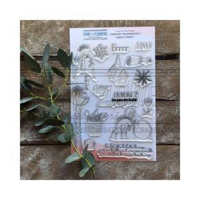 Tampons clear Souffle d'hiver BOULE DE NEIGE par Chou and Flowers. Scrapbooking et loisirs créatifs. Livraison rapide et cade...