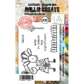 Tampon clear AALL and Create SIMPLE BUT SIGNIFICENT 297 par AALL & Create. Scrapbooking et loisirs créatifs. Livraison rapide...