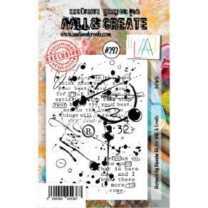 Tampon clear AALL and Create SCRIPTS 292 par AALL & Create. Scrapbooking et loisirs créatifs. Livraison rapide et cadeau dans...