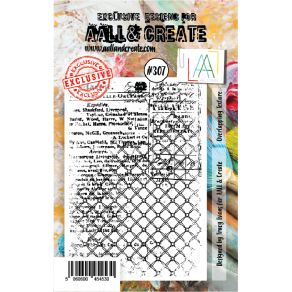 Tampon clear AALL and Create OVERLAPPING TEXTURE 307 par AALL & Create. Scrapbooking et loisirs créatifs. Livraison rapide et...