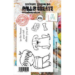 Tampon clear AALL and Create OHBOY 316 par AALL & Create. Scrapbooking et loisirs créatifs. Livraison rapide et cadeau dans c...