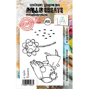 Tampon clear AALL and Create NO RAIN NO FLOWERS 317 par AALL & Create. Scrapbooking et loisirs créatifs. Livraison rapide et ...