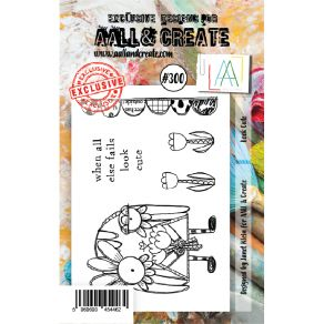 Tampon clear AALL and Create LOOK CUTE 300 par AALL & Create. Scrapbooking et loisirs créatifs. Livraison rapide et cadeau da...