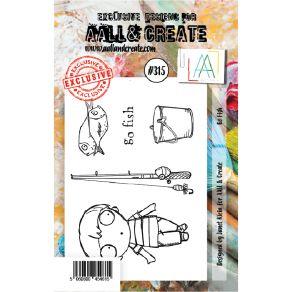 Tampon clear AALL and Create GO FISH 315 par AALL & Create. Scrapbooking et loisirs créatifs. Livraison rapide et cadeau dans...