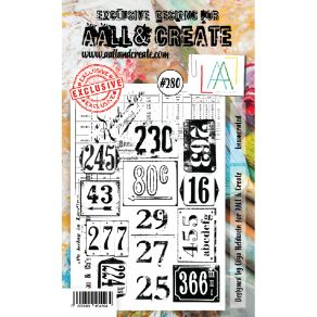 Tampon clear AALL and Create ENUMERATED 280 par AALL & Create. Scrapbooking et loisirs créatifs. Livraison rapide et cadeau d...