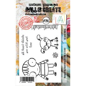Tampon clear AALL and Create ALL GOOD THINGS 296 par AALL & Create. Scrapbooking et loisirs créatifs. Livraison rapide et cad...