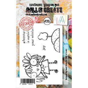 Tampon clear AALL and Create ADVENTURER 295 par AALL & Create. Scrapbooking et loisirs créatifs. Livraison rapide et cadeau d...