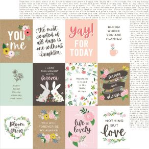 Papier imprimé Lovely Moments LOVELY QUOTES