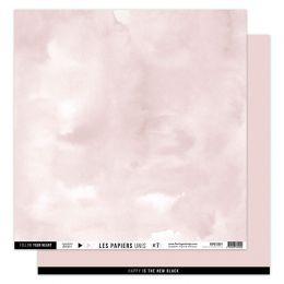Papier uni 30,5 x 30,5 cm N°7 ROSE LOTUS par Florilèges Design. Scrapbooking et loisirs créatifs. Livraison rapide et cadeau ...