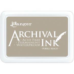 Encre Archival PEBBLE BEACH par Ranger. Scrapbooking et loisirs créatifs. Livraison rapide et cadeau dans chaque commande.