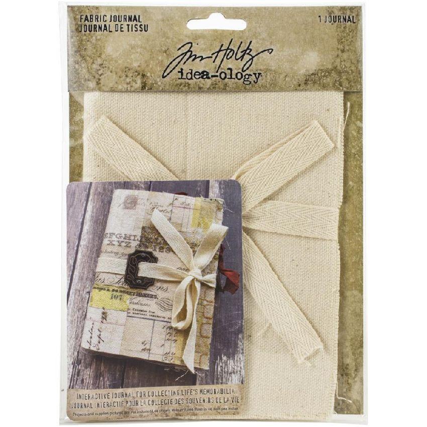 Journal en tissu TIM HOLTZ par Tim Holtz. Scrapbooking et loisirs créatifs. Livraison rapide et cadeau dans chaque commande.