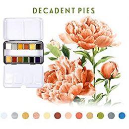 Palette d'aquarelle DECADENT PIES par Prima Marketing. Scrapbooking et loisirs créatifs. Livraison rapide et cadeau dans chaq...