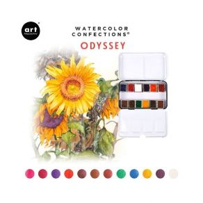 Palette d'aquarelle ODYSSEY par Prima Marketing. Scrapbooking et loisirs créatifs. Livraison rapide et cadeau dans chaque com...
