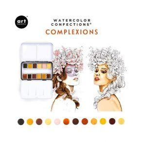 Palette d'aquarelle COMPLEXION par Prima Marketing. Scrapbooking et loisirs créatifs. Livraison rapide et cadeau dans chaque ...