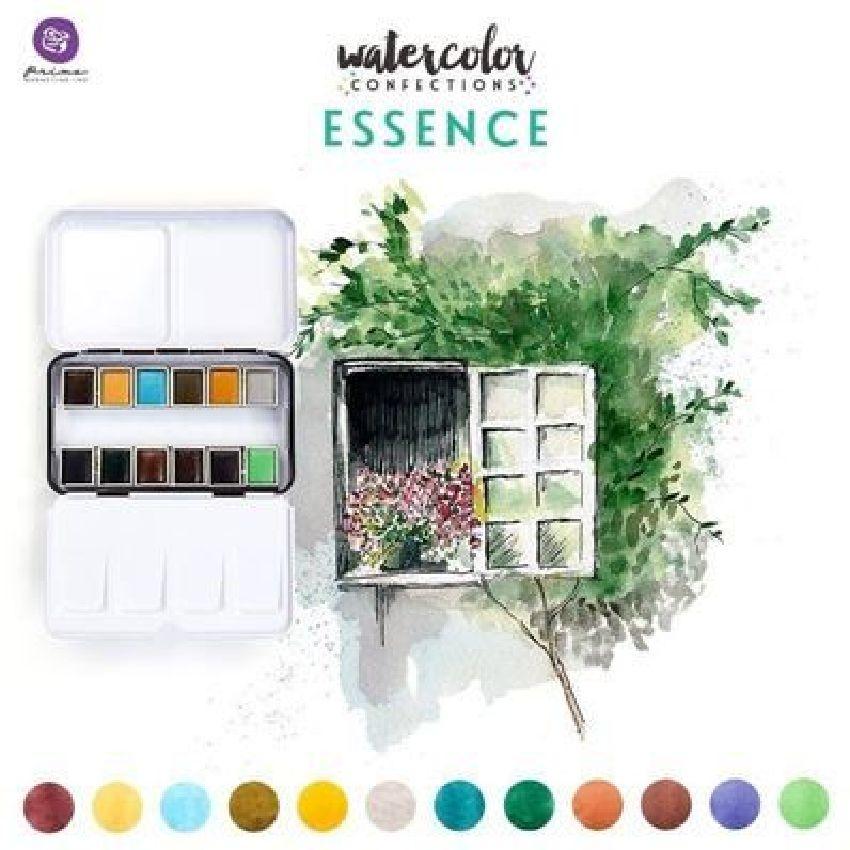 Palette d'aquarelle ESSENCE par Prima Marketing. Scrapbooking et loisirs créatifs. Livraison rapide et cadeau dans chaque com...