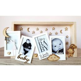 Support en bois exclusif POLAROID BABY