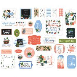 Die-cuts Plant Lady ICONS par Carta Bella. Scrapbooking et loisirs créatifs. Livraison rapide et cadeau dans chaque commande.