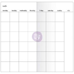 Recharge pour carnet Traveler's journal MONTHLY WITH WHITE PAPER