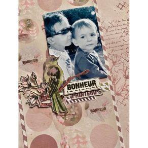 Papier imprimé 30,5 x 30,5 BLOOM 07 par Lorelai Design. Scrapbooking et loisirs créatifs. Livraison rapide et cadeau dans cha...