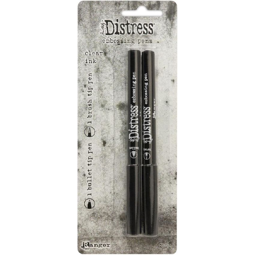 2 stylos à embosser Distress Tim Holtz EMBOSSING PEN