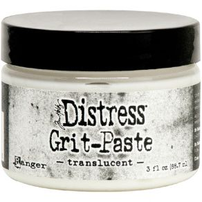 Pâte de texture Distress Tim Holtz GRIT PASTE TRANSLUCENT