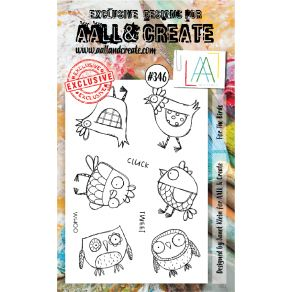 Tampon clear AALL and Create FOR THE BIRDS 346